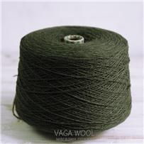 Пряжа City, 022 Дремучий лес, 144м/50г, шерсть ягнёнка, шёлк, Vaga Wool