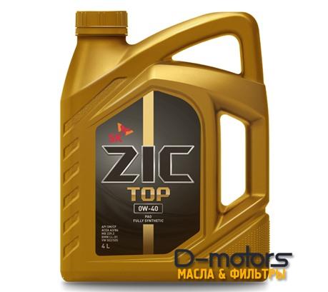 ZIC TOP 0W-40 (4л.)