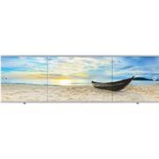 """Экран 1,5 """"Премиум Арт"""" №18 пляж"""