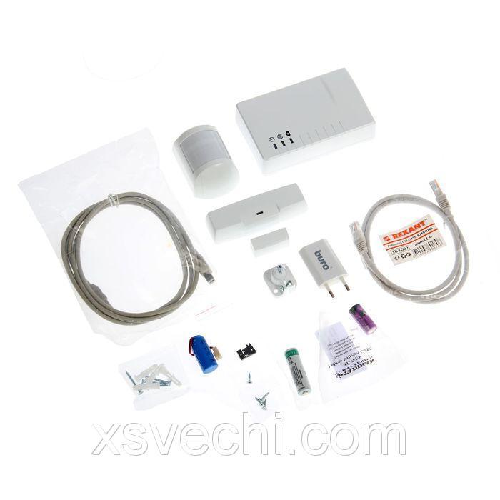 Охранная GSM система Теко Security Hub, контроль с мобильного