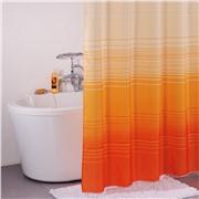 Штора для в/к,200*200 см, полиэстер, orange horizon 300P20RI11