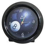 Часы настенные (черные), интернет-магазин товаров для бильярда Play-billiard.ru