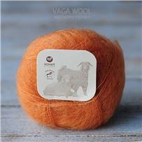 Пряжа Brushed lace Карамель 3014, 210м/25г, Mohair by canard, Karamel