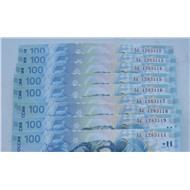 100 рублей Сочи серии Аа