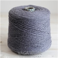 Пряжа City 018 Лаванда 144м/50гр., шерсть ягнёнка, шёлк, Vaga Wool
