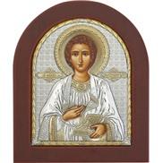 """Иконы """"св. Пантелеимон"""" на дереве"""