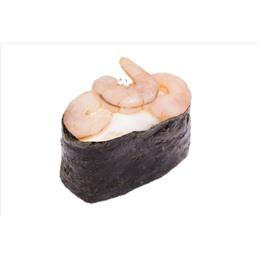 Гункан креветка/сливочный сыр