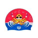 Шапочка для плавания AWT MULTI JR kora/fuchsia, силикон, 91925 98