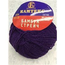 Бамбук стрейч №060 (фиолетовый) В упак. 10 шт