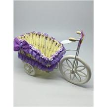 Велосипед декоративный арт.XY-3 цвет: светло-фиолетовый