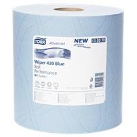 Протирочная бумага Tork повышенной прочности голубая (W1)