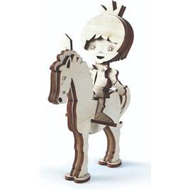 Lemmo Конструктор 3D деревянный Lemmo Принц на лошади