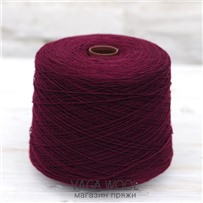 Пряжа Lambswool Бургундия 108, 212м/50г, Knoll Yarns, Burgundy