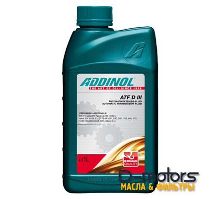ADDINOL ATF D III (1л)