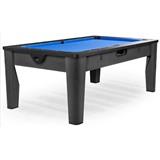 Многофункциональный игровой стол 6 в 1 «Tornado» (черный), интернет-магазин товаров для бильярда Play-billiard.ru