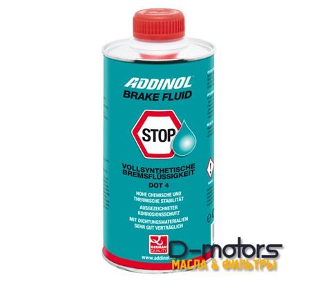Тормозная жидкость Addinol Brake Fluid Dot-4 (0,5л)