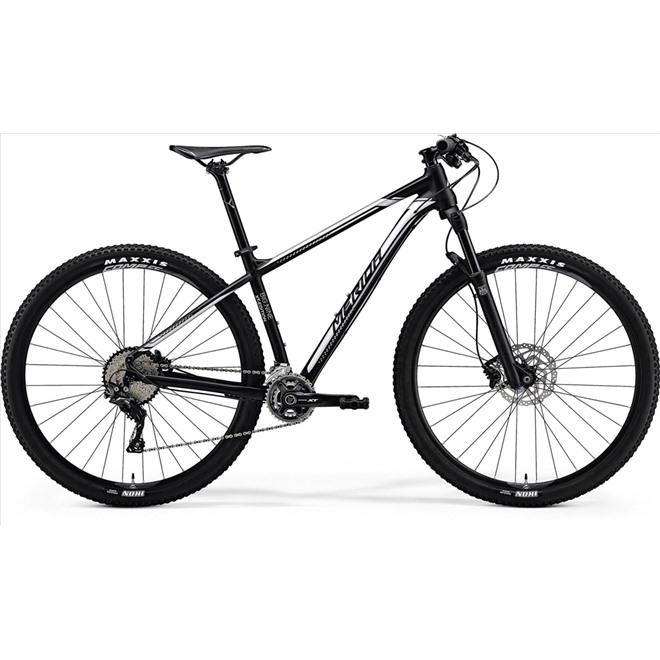 Велосипед Merida Big Nine XT-Edition Matt Black (Silver) 2018, интернет-магазин Sportcoast.ru