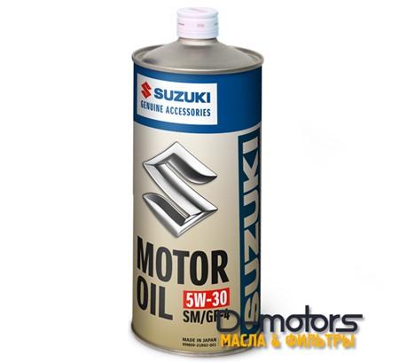 SUZUKI MOTOR OIL 5W-30 SM/GF-4 (1л.)