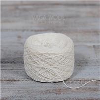 Пряжа Lambswool 105 Чистый белый, 212м/50г., Knoll Yarns, Bleached white