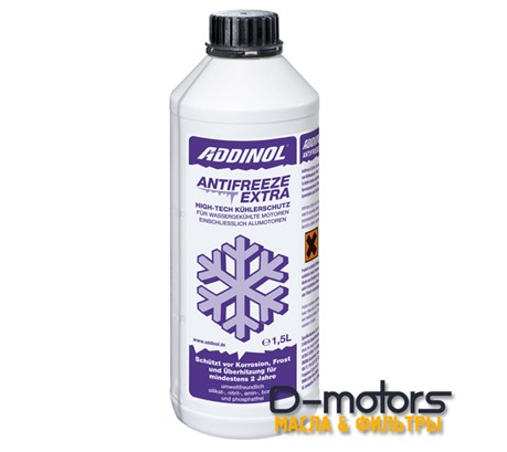ADDINOL ANTIFREEZE EXTRA G12+ RED (1,5л)