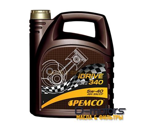 Моторное мало Pemco Idrive 340 5w-40 (4л.)