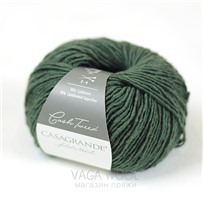 Cash Tweed 205 Olive, 150 м/50г, Casagrande