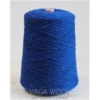 Пряжа Твид-мохер Синий принт 2628, 110м/50гр. Knoll Yarns, Mohair Tweed, Blue Print