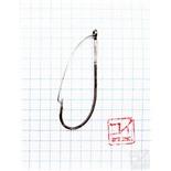 Крючок Koi Weedless Single Hook № 3/0 , BN, незацепляйка (10 шт.) KH5241-3/0BN