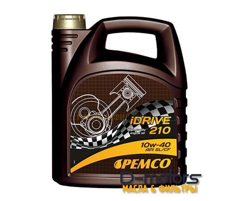 Моторное мало Pemco Idrive 210 10w-40 (4л.)