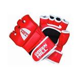 Перчатки для ММА MMR-0027, кожзам, красный