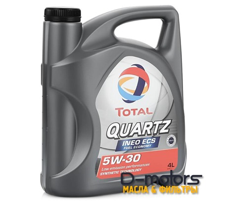 Моторное масло Total Quartz INEO ECS 5W-30 (4л.)