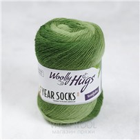 Пряжа YEAR SOCKS, 05 Май, 400м в 100г, Woolly Hugs