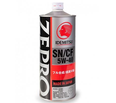 Моторное масло Idemitsu Zepro Euro SPEC 5W-40 (1л.)