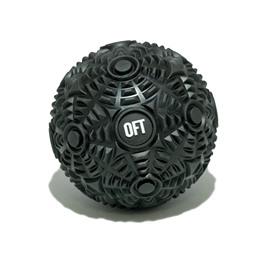 Мяч массажный 12 см Premium Black