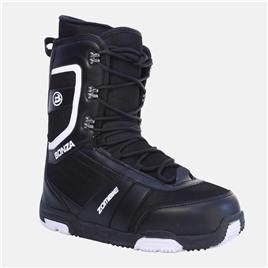 Сноубордические ботинки Bonza Zombie men black/white, интернет-магазин Sportcoast.ru