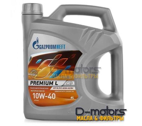 GAZPROMNEFT Premium L 10W-40 (4л)