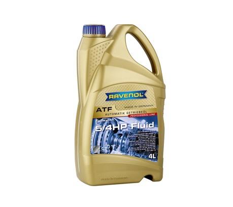 Трансмиссионное масло для АКПП Ravenol ATF 5/4 HP Fluid (4л)
