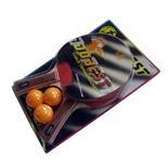 Набор для настольного тенниса Dobest BR06 0 звезд (2 ракетки + 3 мяча)