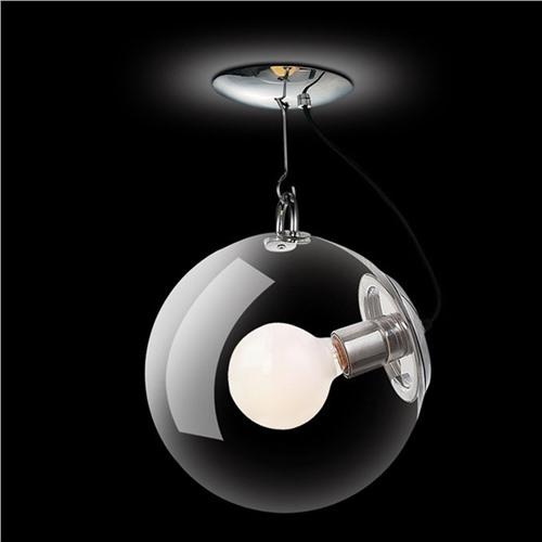 Подвесной стеклянный светильник