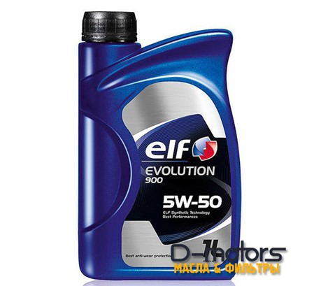 Моторное масло ELF Evolution 900 5W-50 (1л.)