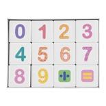 Кубики пластиковые Десятое Королевство Весёлая арифметика 12 шт 708