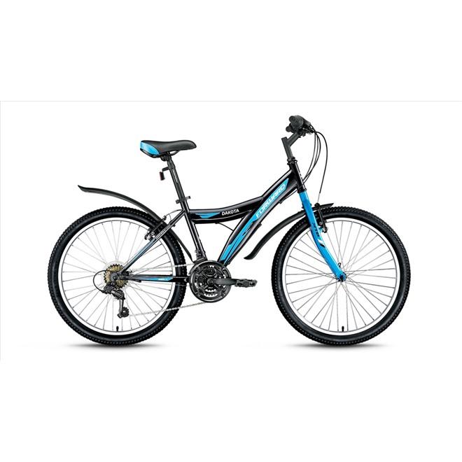 Велосипед Forward Dakota 1.0 24 (2017) Черный, интернет-магазин Sportcoast.ru