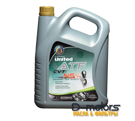 UNITED CVT-NS2 FLUID (4л.)
