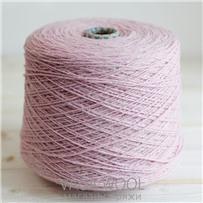 Пряжа City, 015 Пион, 144м/50г, шерсть ягнёнка, шёлк, Vaga Wool