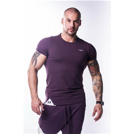 Ne Muscle Back T-shirt цв.бургундия