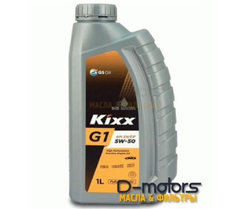 Моторное масло KIXX G1 5W-50 (1л)