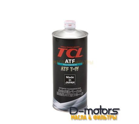 Трансмиссионное масло для автоматических коробок передач TCL ATF TYPE-T IV (1л)