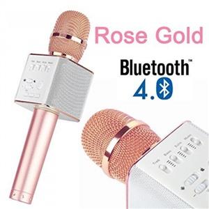 Беспроводной караоке микрофон Micgeek Q9 Золотая роза