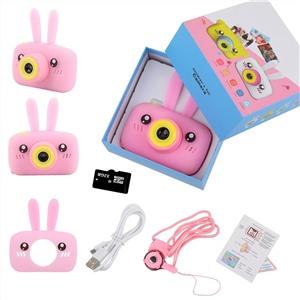 Детский фотоаппарат CARTOON DIGITAL Зайка розовый