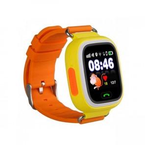 Детские часы GPS трекер Smart Baby Watch Q90 Оранжевые